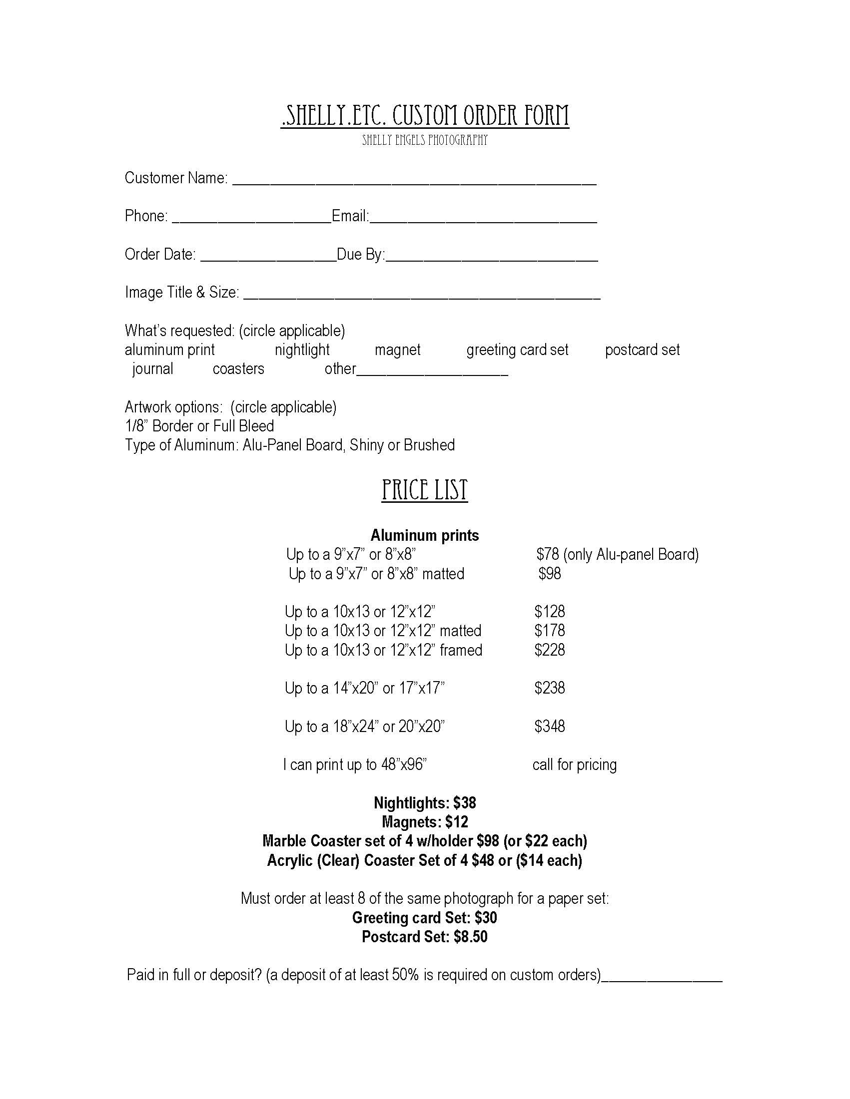example of application forms